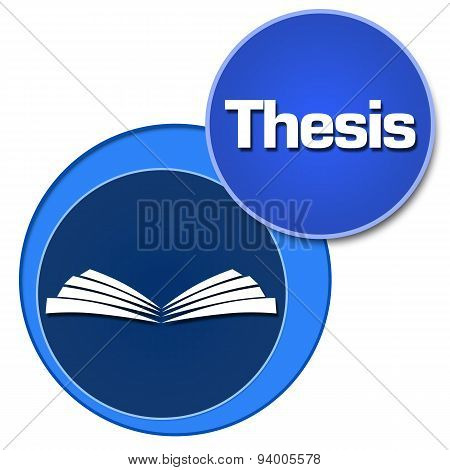 Thesis Two Blue Circles