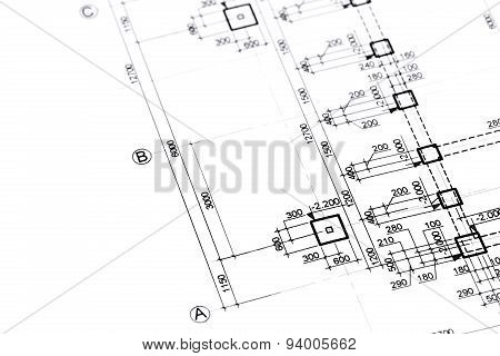 Architectural Or Engineering Plan