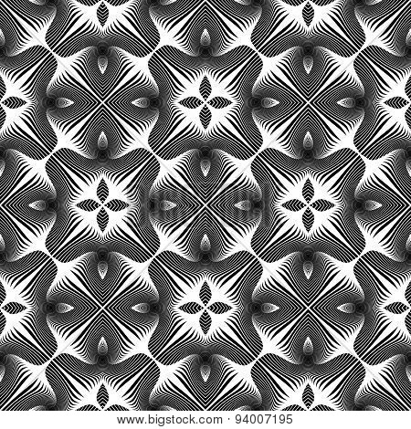 Design Seamless Abstract Decorative Pattern