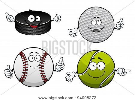 Ice hockey, golf, tennis and baseball items