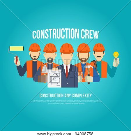 Builders Concept Flat