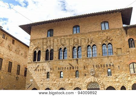 Bishop's Palace In Volterra