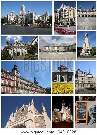 Madrid Collage