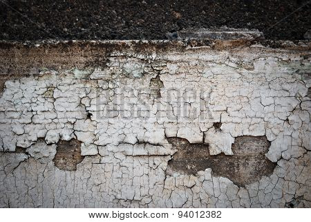Wall Texture Peeling Paint Background