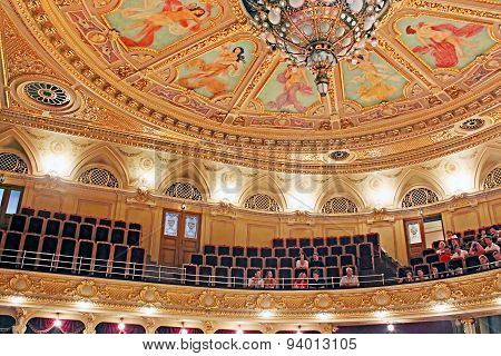 Interior Of Theatre, Lviv, Ukraine