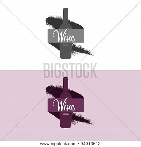 Logo Inspiration For Shops, Companies, Advertising With Wine.