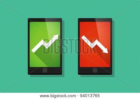 Long Shadow  Graphs   Phone Set