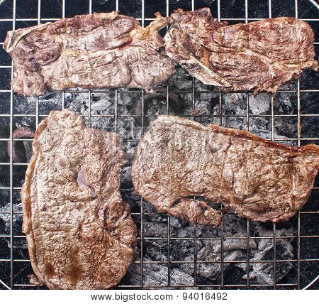 Grilled Meat Steaks