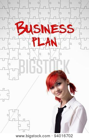 Girl And The Words Business Plan