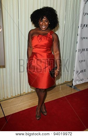 LOS ANGELES - JAN 11:  Uzo Aduba at the DuJour Magazine Honors Lupita Nyong'o at the Mondrian LAs on January 11, 2014 in Los Angeles, CA