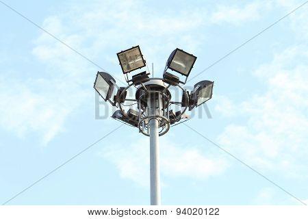 spotlight in the park