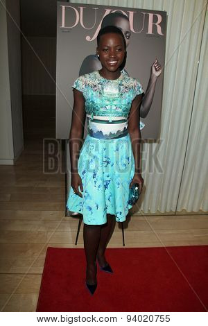 LOS ANGELES - JAN 11:  Lupita Nyong'o at the DuJour Magazine Honors Lupita Nyong'o at the Mondrian LAs on January 11, 2014 in Los Angeles, CA