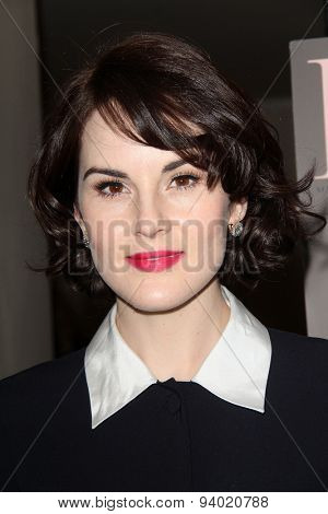 LOS ANGELES - JAN 11:  Michelle Dockery at the DuJour Magazine Honors Lupita Nyong'o at the Mondrian LAs on January 11, 2014 in Los Angeles, CA