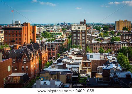 View Of Buildings In Center City, Philadelphia, Pennsylvania.