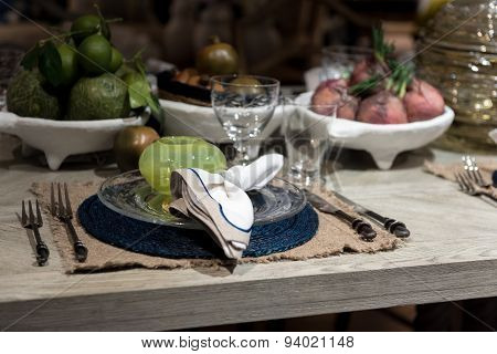 Luxury Table Setting