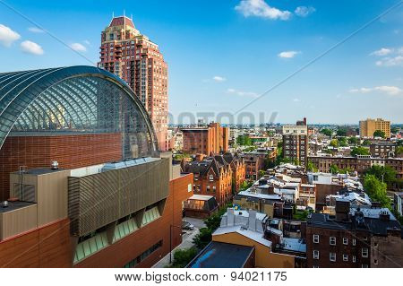 View Of Buildings In Center City, Philadelphia, Pennsylvania.