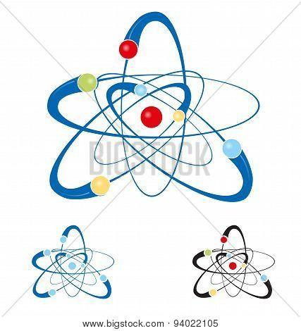 Atom Symbol Set Isolated