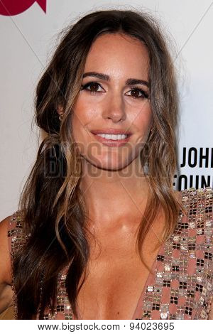 LOS ANGELES - MAR 3:  Louise Roe at the Elton John AIDS Foundation's Oscar Viewing Party at the West Hollywood Park on March 3, 2014 in West Hollywood, CA