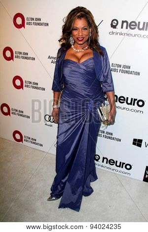 LOS ANGELES - MAR 3:  Lorraine Toussaint at the Elton John AIDS Foundation's Oscar Viewing Party at the West Hollywood Park on March 3, 2014 in West Hollywood, CA