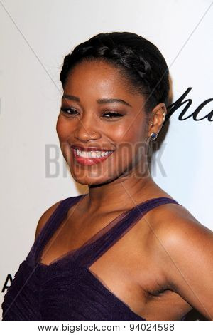 LOS ANGELES - MAR 3:  Keke Palmer at the Elton John AIDS Foundation's Oscar Viewing Party at the West Hollywood Park on March 3, 2014 in West Hollywood, CA