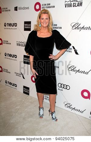 LOS ANGELES - MAR 3:  Sandra Lee at the Elton John AIDS Foundation's Oscar Viewing Party at the West Hollywood Park on March 3, 2014 in West Hollywood, CA