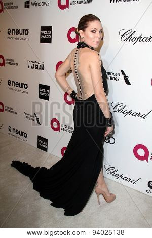 LOS ANGELES - MAR 3:  Skylar Grey at the Elton John AIDS Foundation's Oscar Viewing Party at the West Hollywood Park on March 3, 2014 in West Hollywood, CA