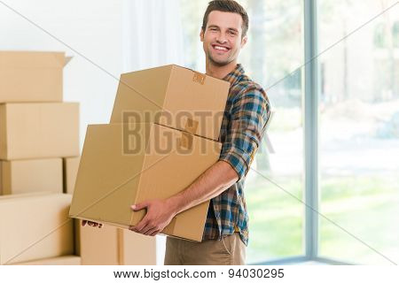 Moving To A New Apartment.