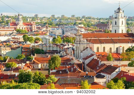 Vilnius. City streets.