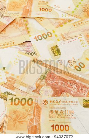Thousand Hong Kong dollar