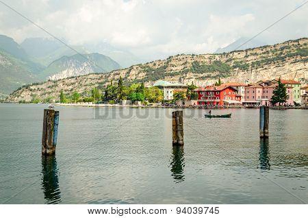 Lake Garda, Town Of Torbole (trentino, Italy)
