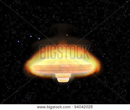 Burning Ufo