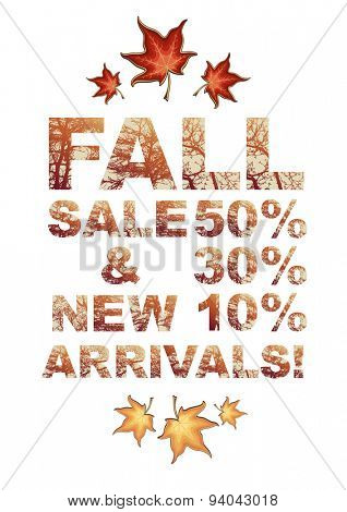Fall sale 50% 30% 10% & new arrivals!