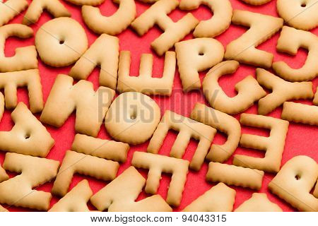 Mixed biscuit ABC
