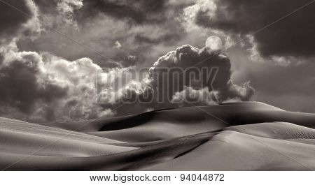 Beautiful Image of the Imperial Sand dunes near San Diego, California