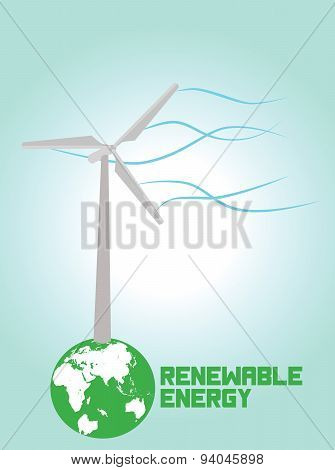 Vector Renewable energy