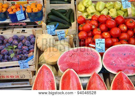 Croatia Farmer's Market