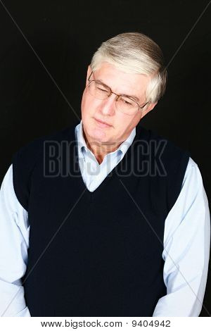 Older Man In Glasses