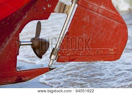 Fishing boat propeller