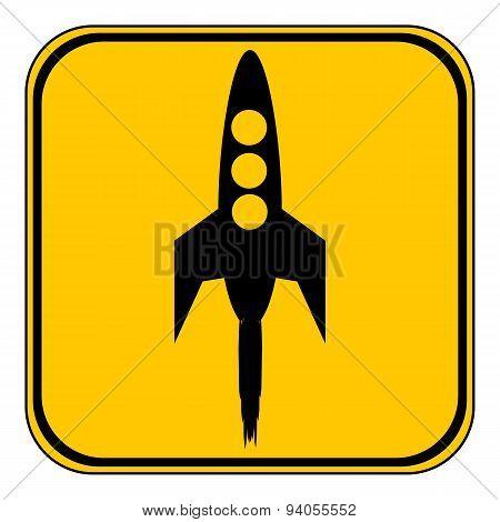 Starting Rocket Button.