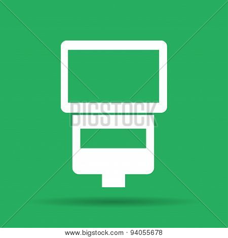 Camera Flash Vector Isolated