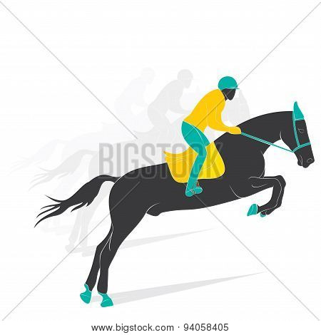 equestrian game player design