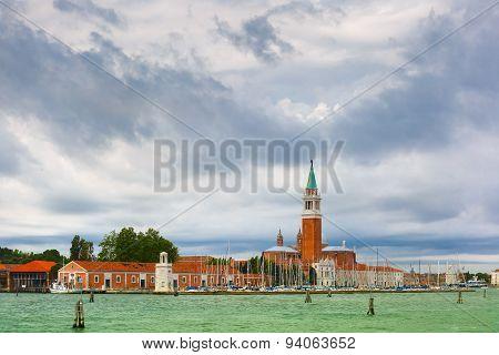 San Giorgio Maggiore in Venice lagoon, Italia