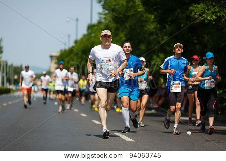 A Charity Marathon In Budapest