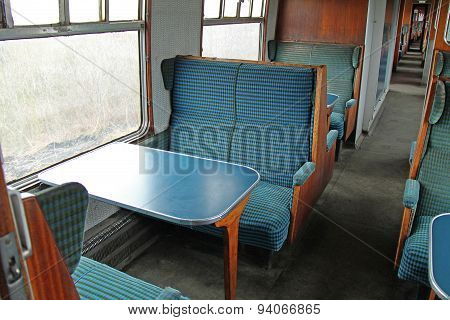 Train Passenger Carriage.