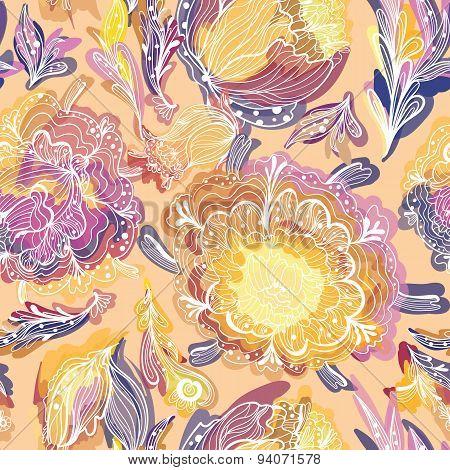 Magic Floral Pattern