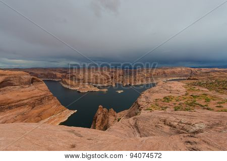 Lake Powell Near Hole In The Rock Escalante Utah Landscape