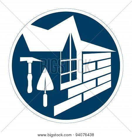 Housing construction symbol