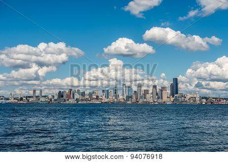 Sunny Seattle Skyline 5