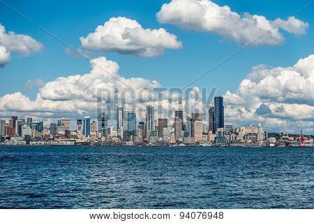 Sunny Seattle Skyline 6