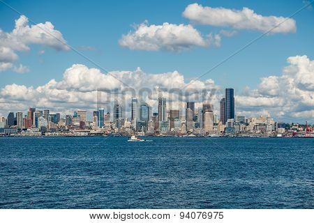 Sunny Seattle Skyline 7